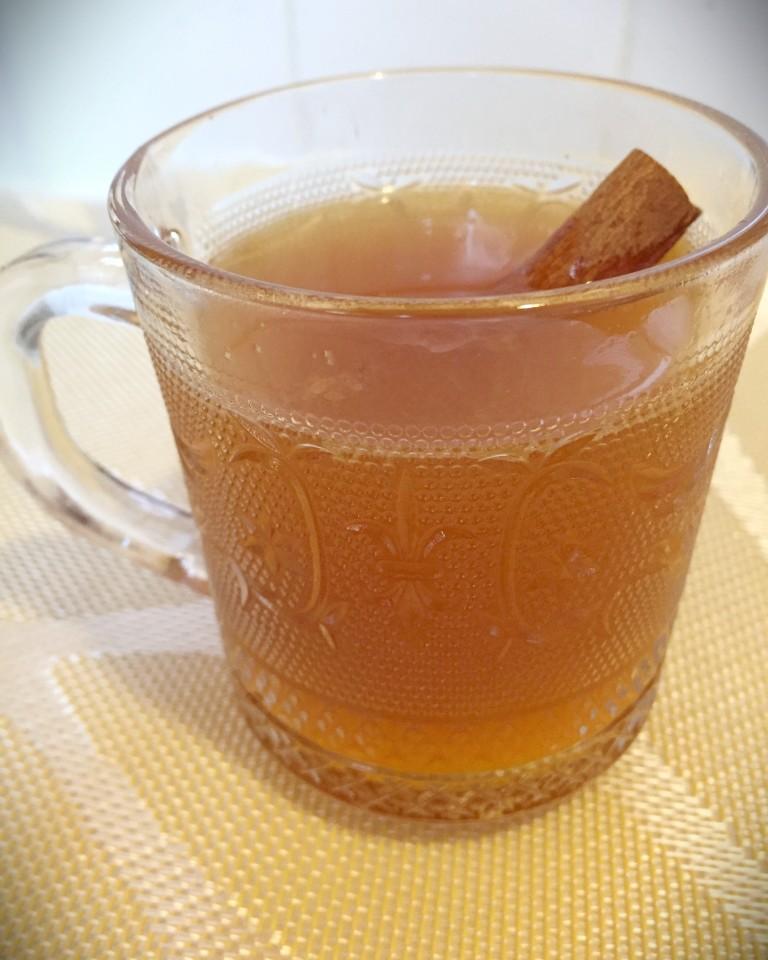Hot Pisco Cider