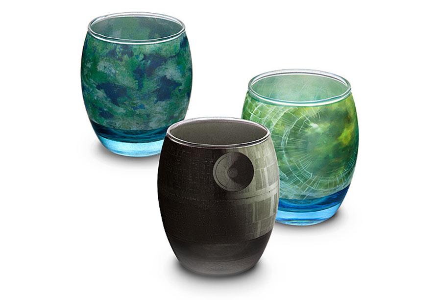 star wars glassware