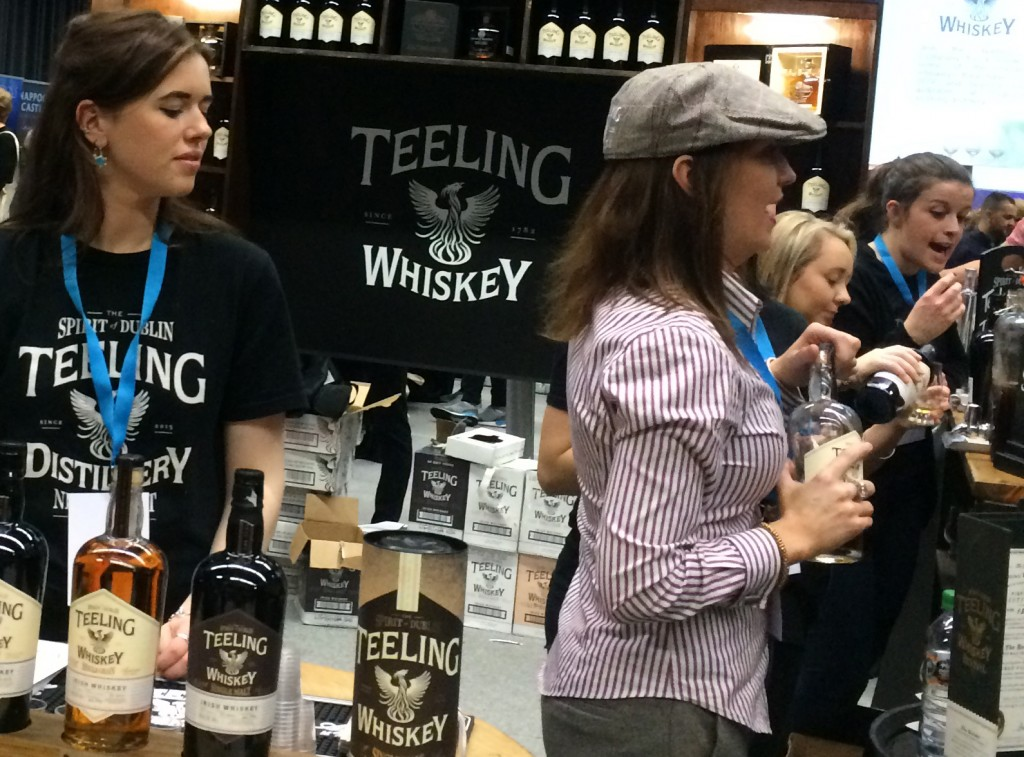 Crew Teeling at Whisky Live Dublin, photo by Ellie Tam