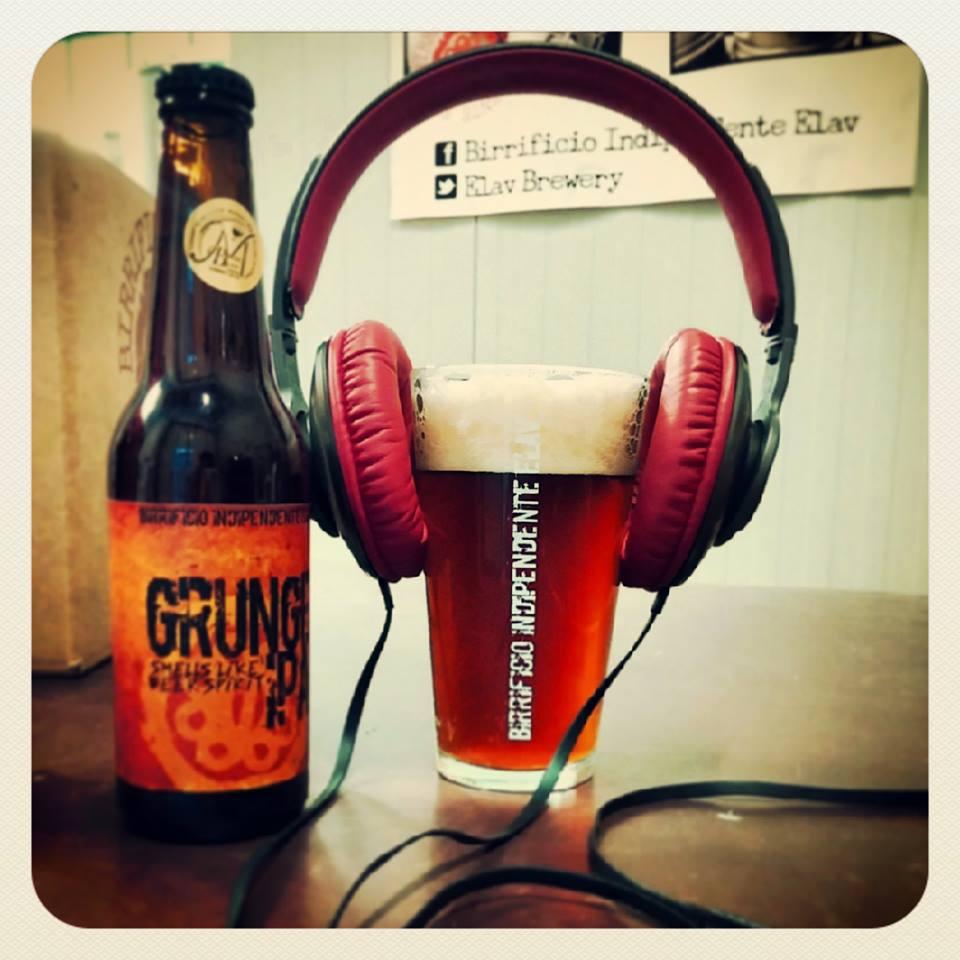 Musically-inpsired Grunge IPA, courtesy Birrificio Indipendente Elav