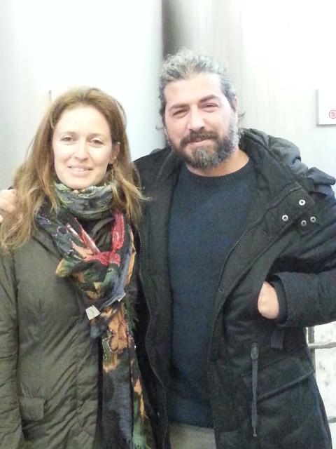 Valentina Ardemagni and Antonio Terzi