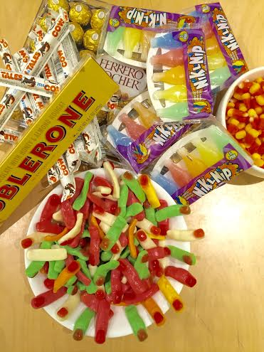 candy for booze pairing
