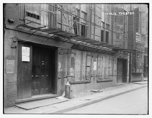 The Chinese Theater, which is now Apotheke bar
