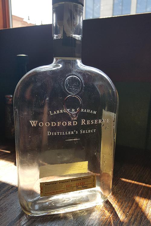 "The ""proposal"" bourbon"