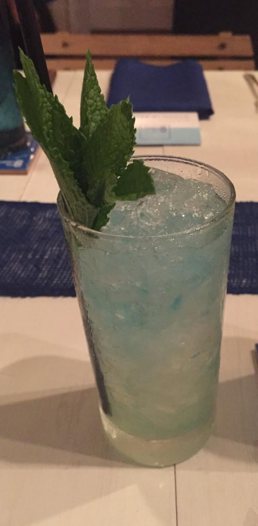La Sirena cocktail at the Mesa Milagro spirited dinner.