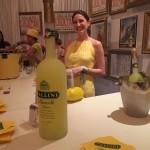 Angela Bosco at the Pallini Limoncello Corner Bar pop up at the Monteleone, photo by Amanda Schuster