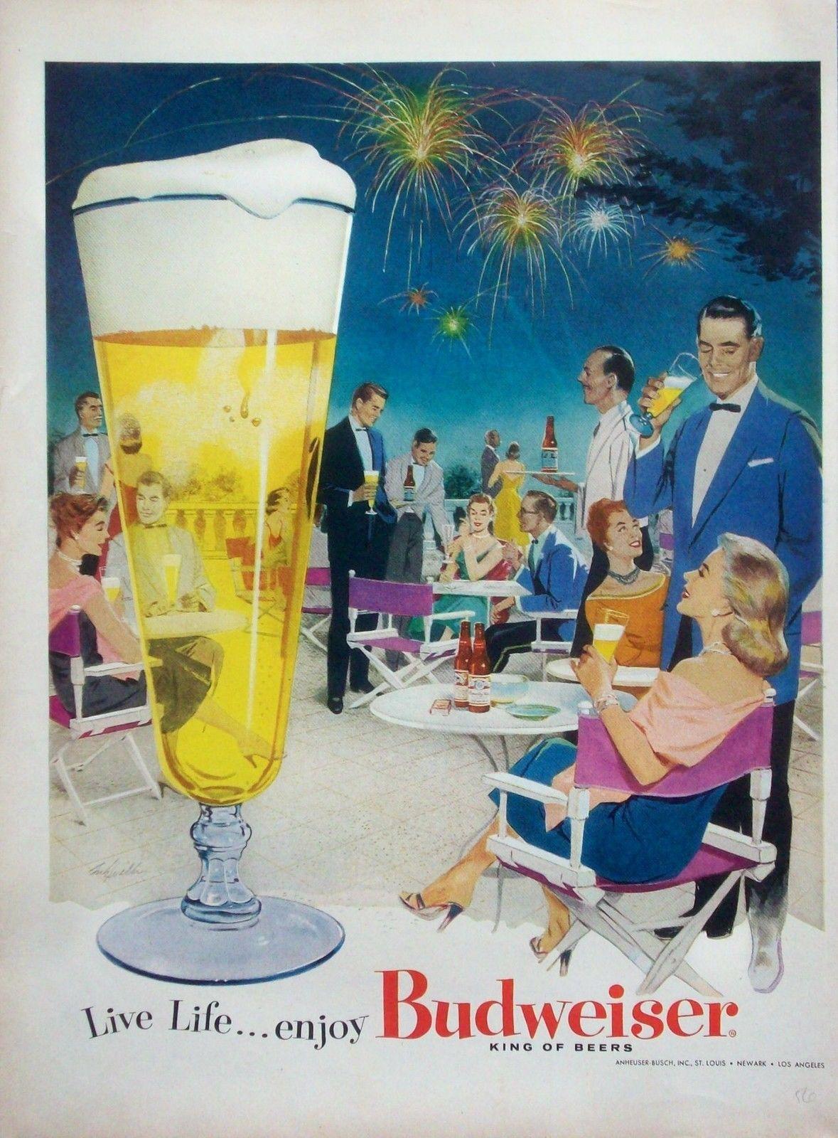 Budweiser, 1956