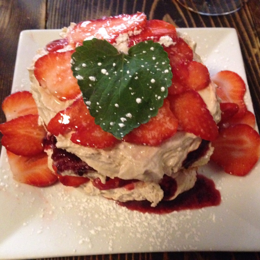 strawberry shortcake made with love, photo by Amanda Schuster