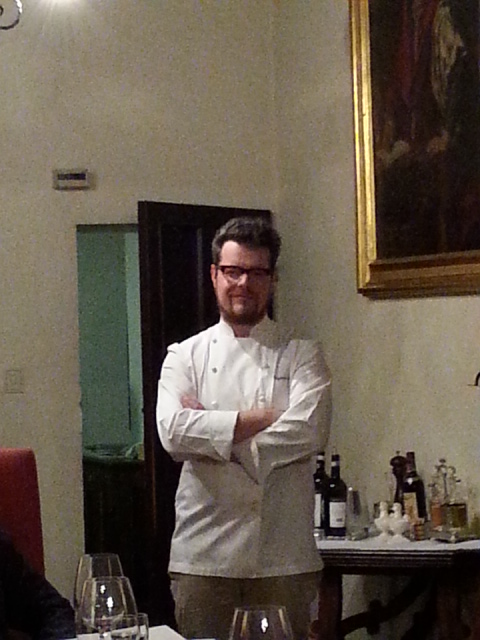 Chef Eugenio Boer