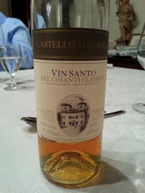 Castello d'Albola Vin Santo del Chianti Classico DOCG 2004