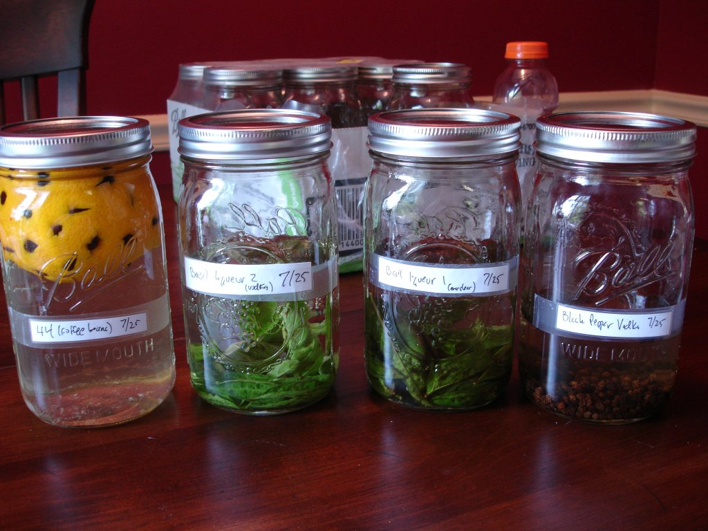 Now everyone makes vodka infusions! Photo by Willrad vom Doomenstein