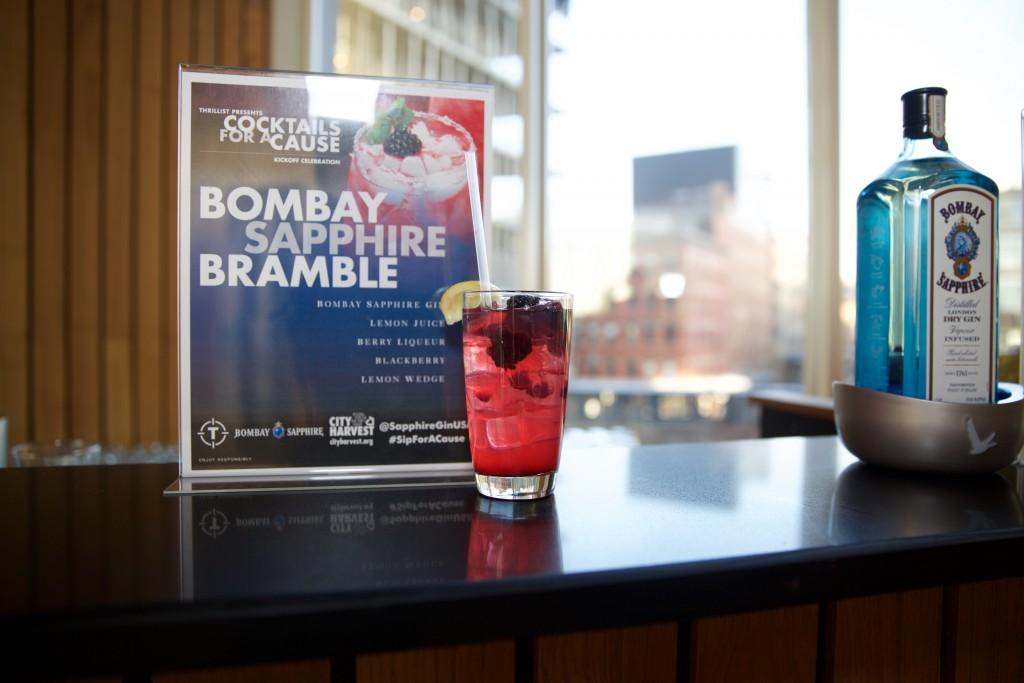 Bombay Sapphire Bramble