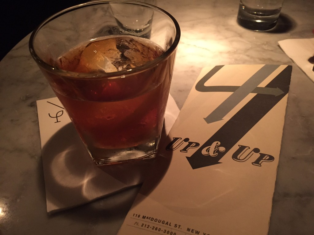 The Foster Avenue cocktail, photo by Aliza Kellerman