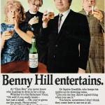 Benny Hill for Black & White, 1971