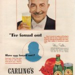 Arthur Fiedler for Carling's Red Cap Ale, 1950