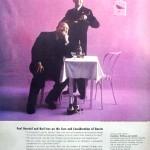 Burl Ives and Paul Henreid for Heublein, 1955