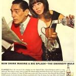 """""""Killer Joe"""" Piro and dance partner for Smirnoff, 1965"""