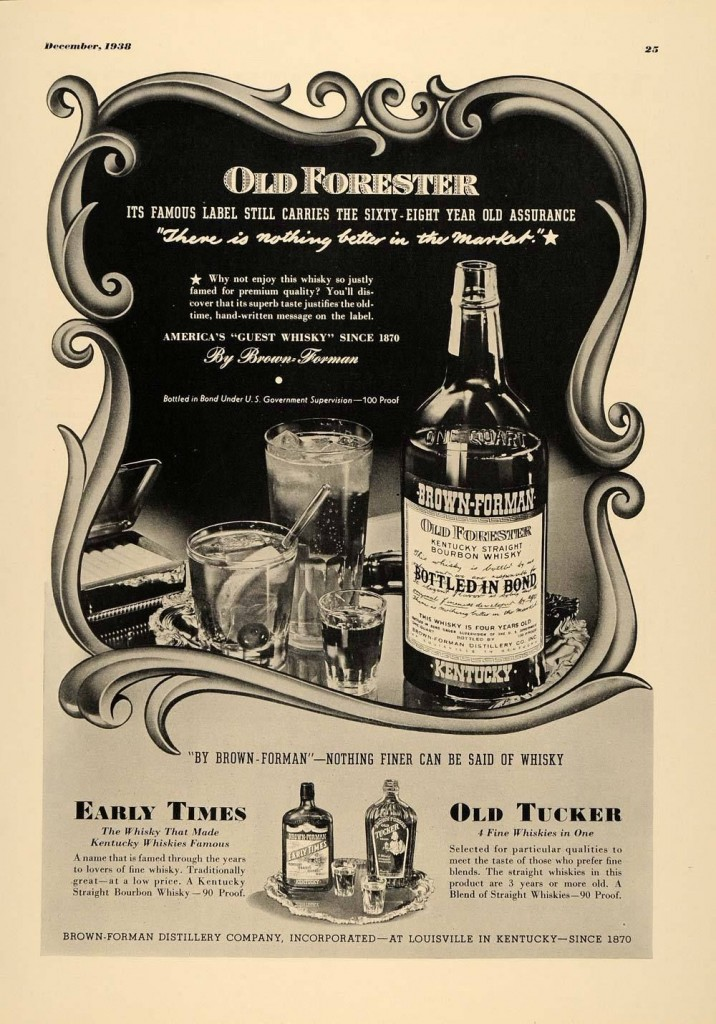 Old Forester, 1938