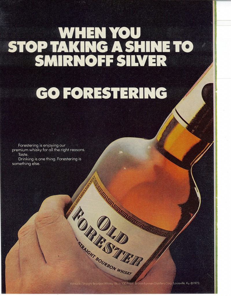Old Forester, 1974