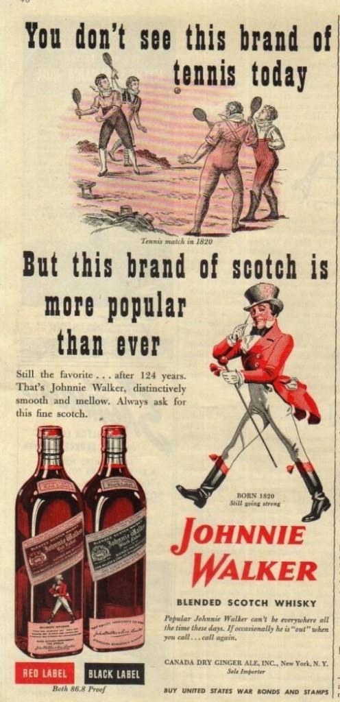 Johnnie Walker, 1944