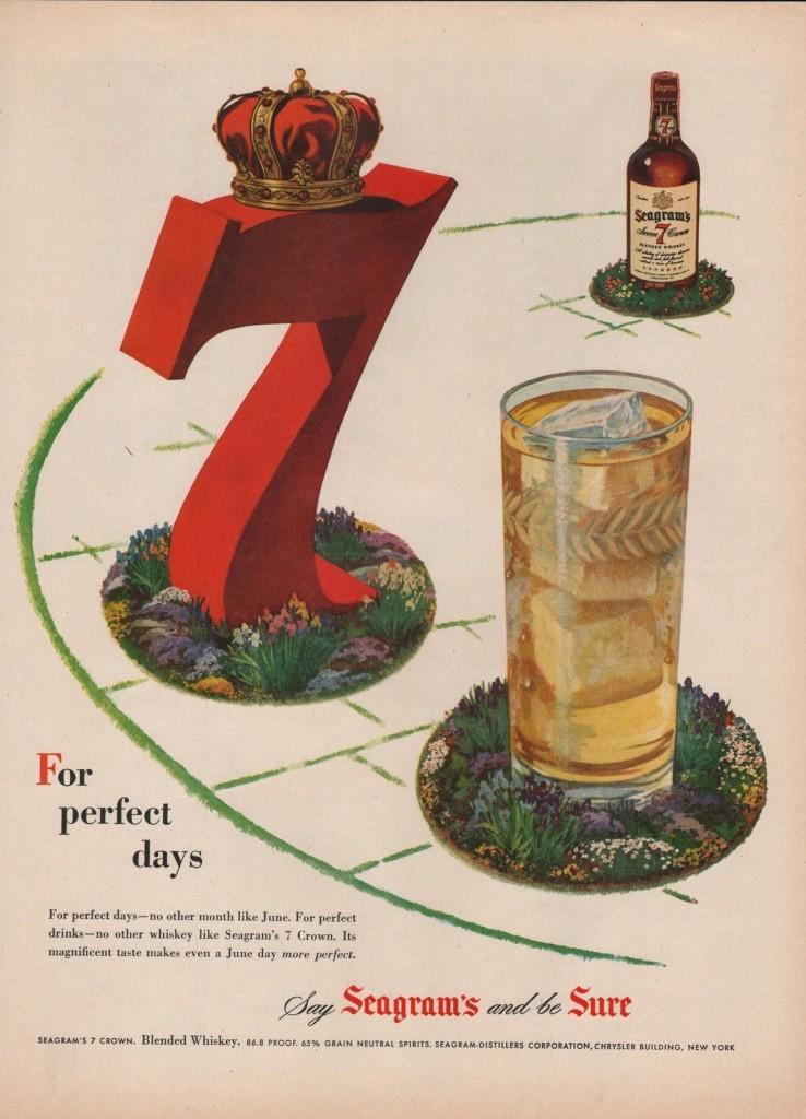 Seagram's 7, 1950
