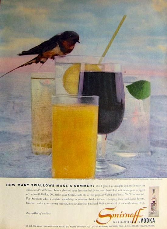 Smirnoff, 1957