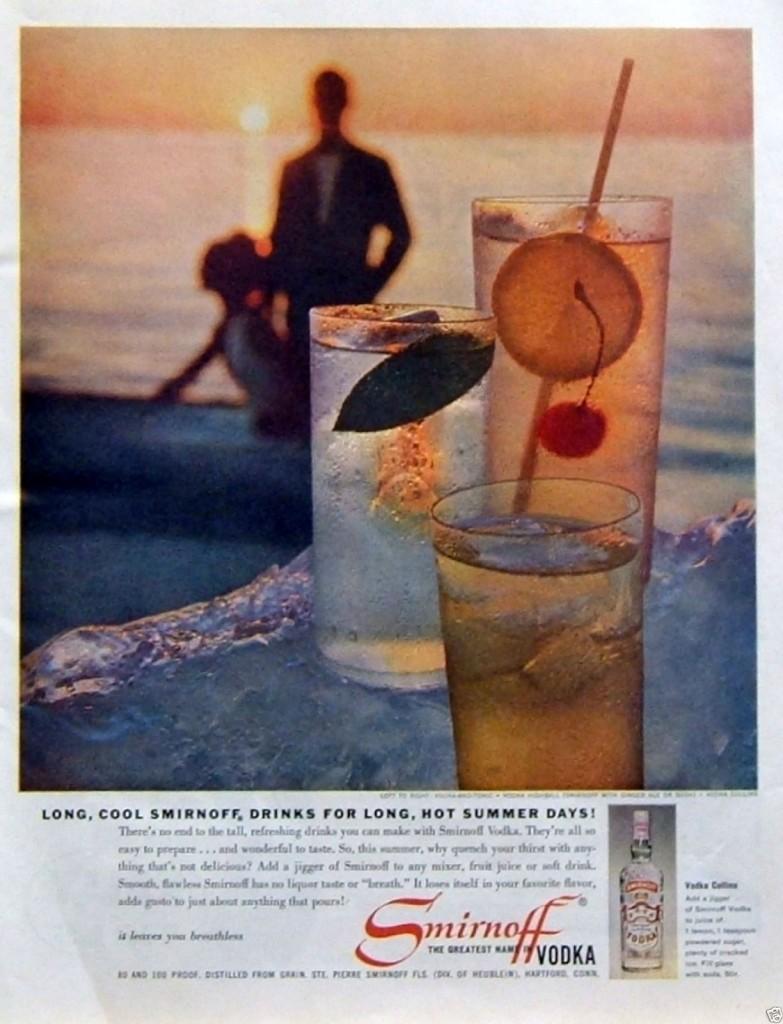 Smirnoff, 1960
