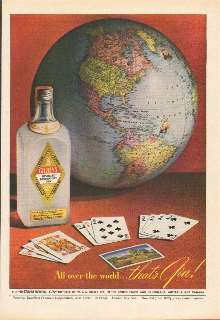 Gilbey's Gin, 1948