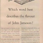 A Jameson ad from 1954