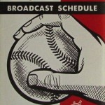 Miller's broadcast schedule for the 1958 Milwaukee Braves