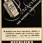 Heublein's Milshire Dry, 1937