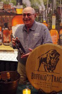 Buffalo Trace tour guide Fred Mozenter