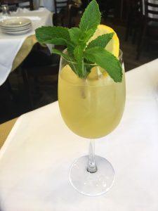 Amalfi Mint Spritz, courtesy Carmine's restaurants
