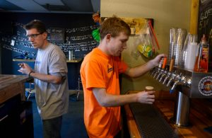(R-L) Nick Wrape and Alex Randall, Photo by Kathryn Scott/The Denver Post