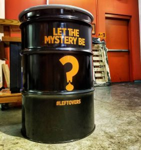 Let The Mystery Be barrel at Copper & Kings, courtesy C&K