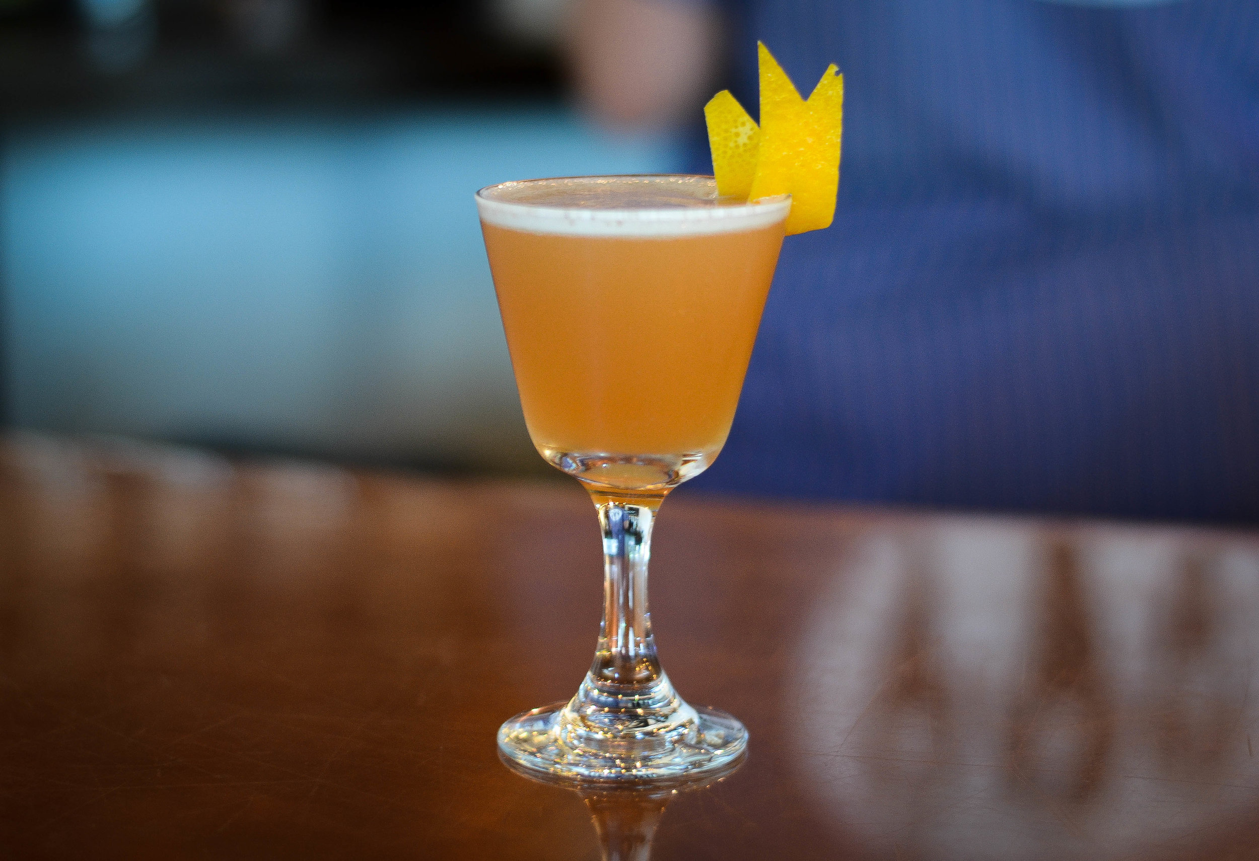 Corsair distillery serves delicious cocktails in its tasting room