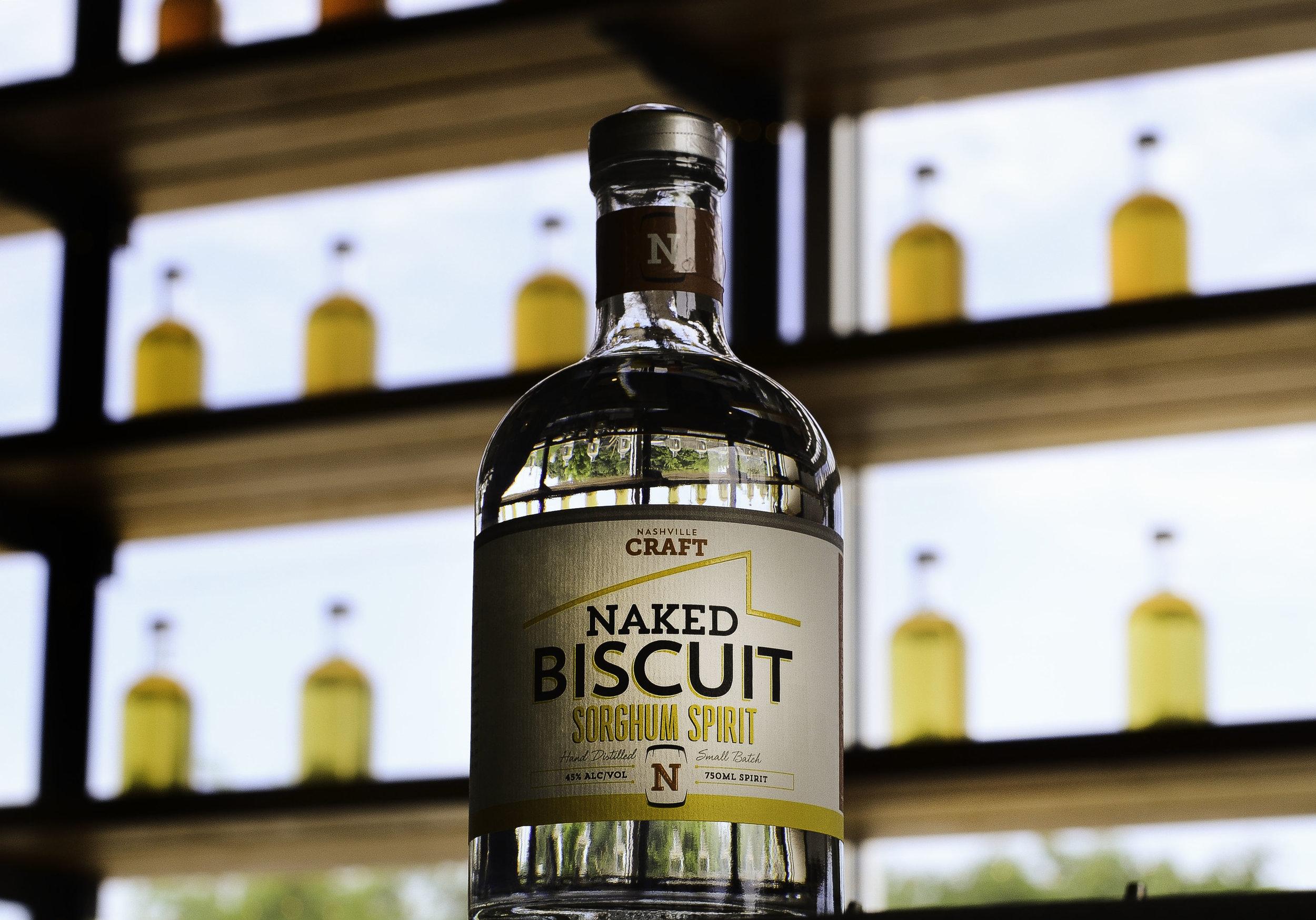 Naked Biscuit Sorghum Spirit at Nashville Craft