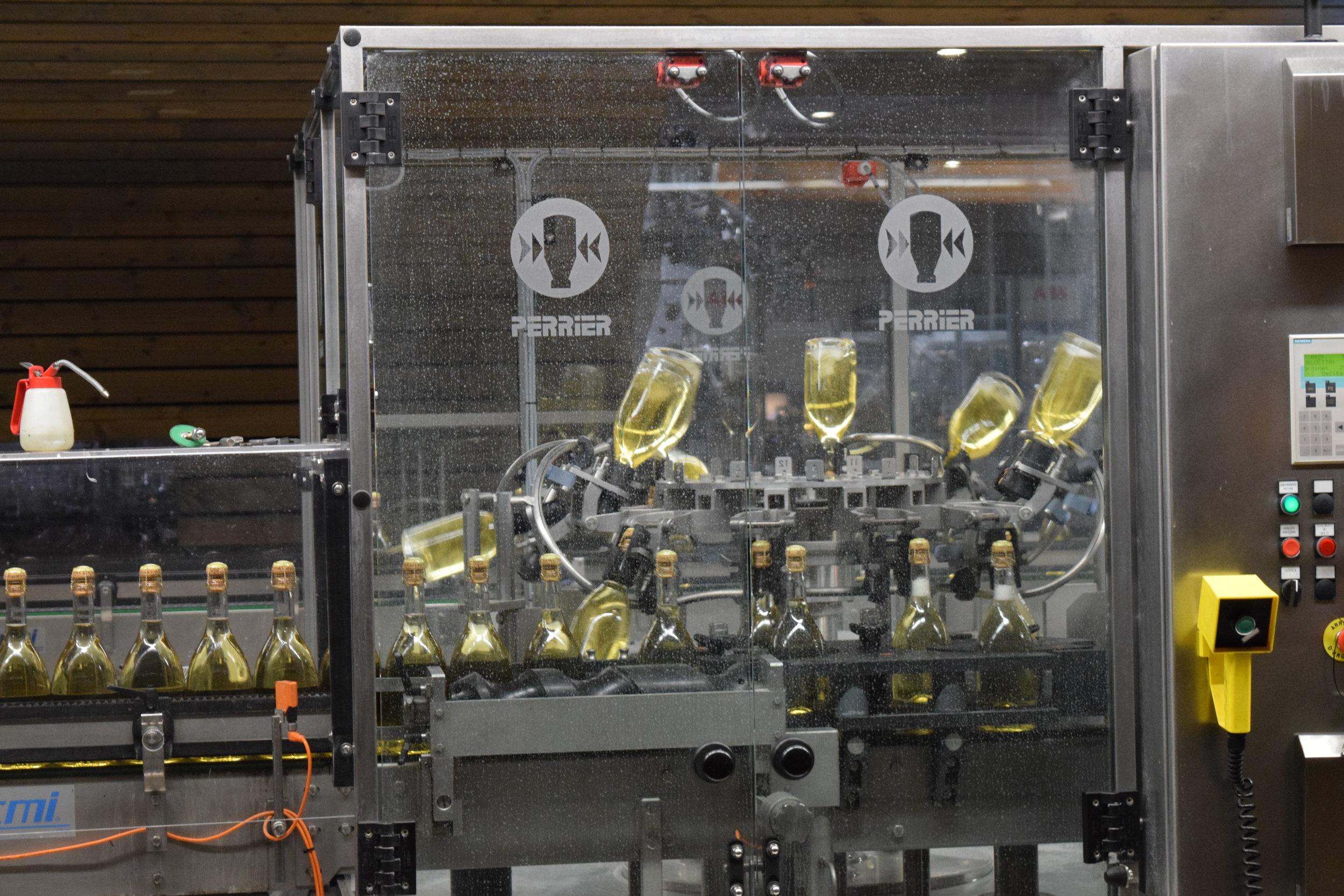Disgorgement machine, photo by Becca Yeamans Irwin