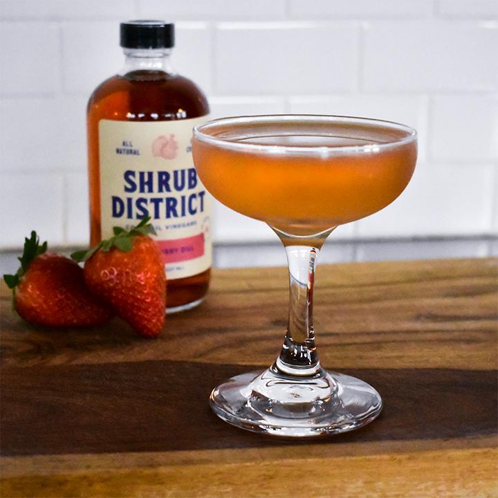 Strawberry Sour photo courtesy Shrub District