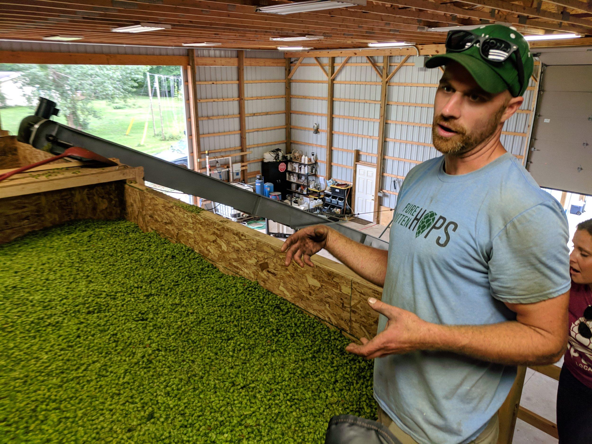 Justin Dieleman talks hops at Pure Mitten