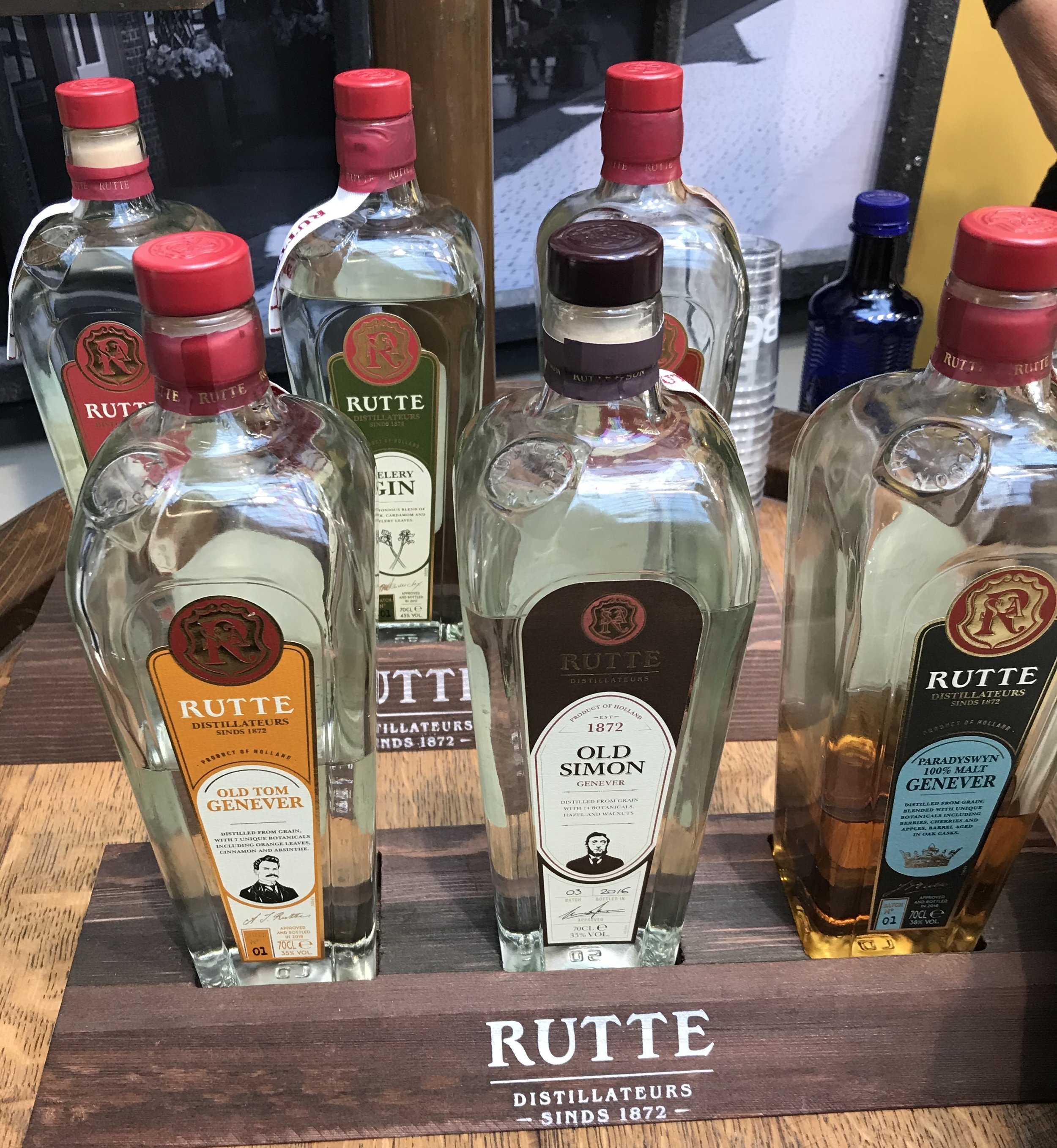 Rutte on display at Bar Convent Berlin 2018, photo by Amanda Schuster