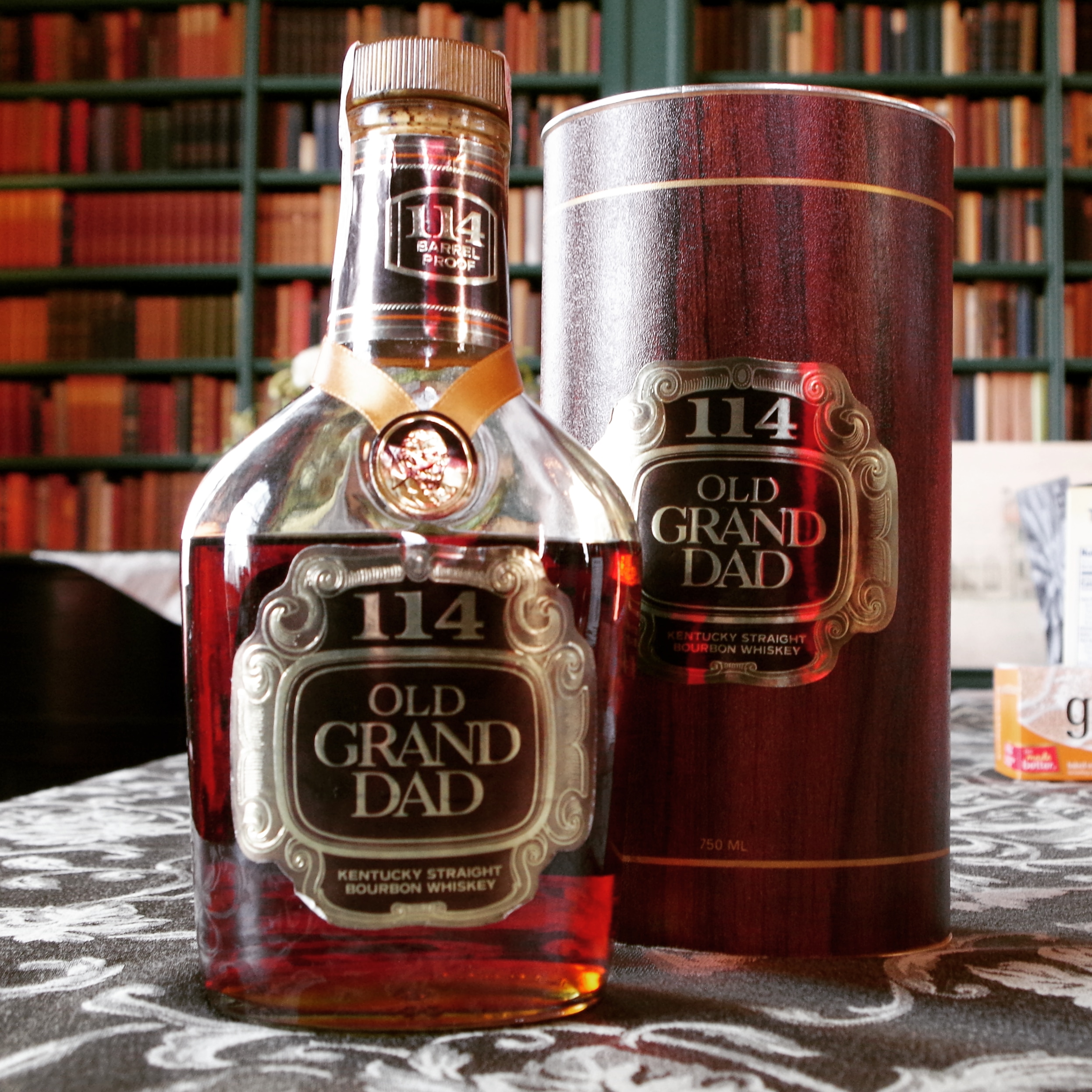Vintage Old Grand-Dad 114 at the Oxmoor Farm Bourbon Salon 2018