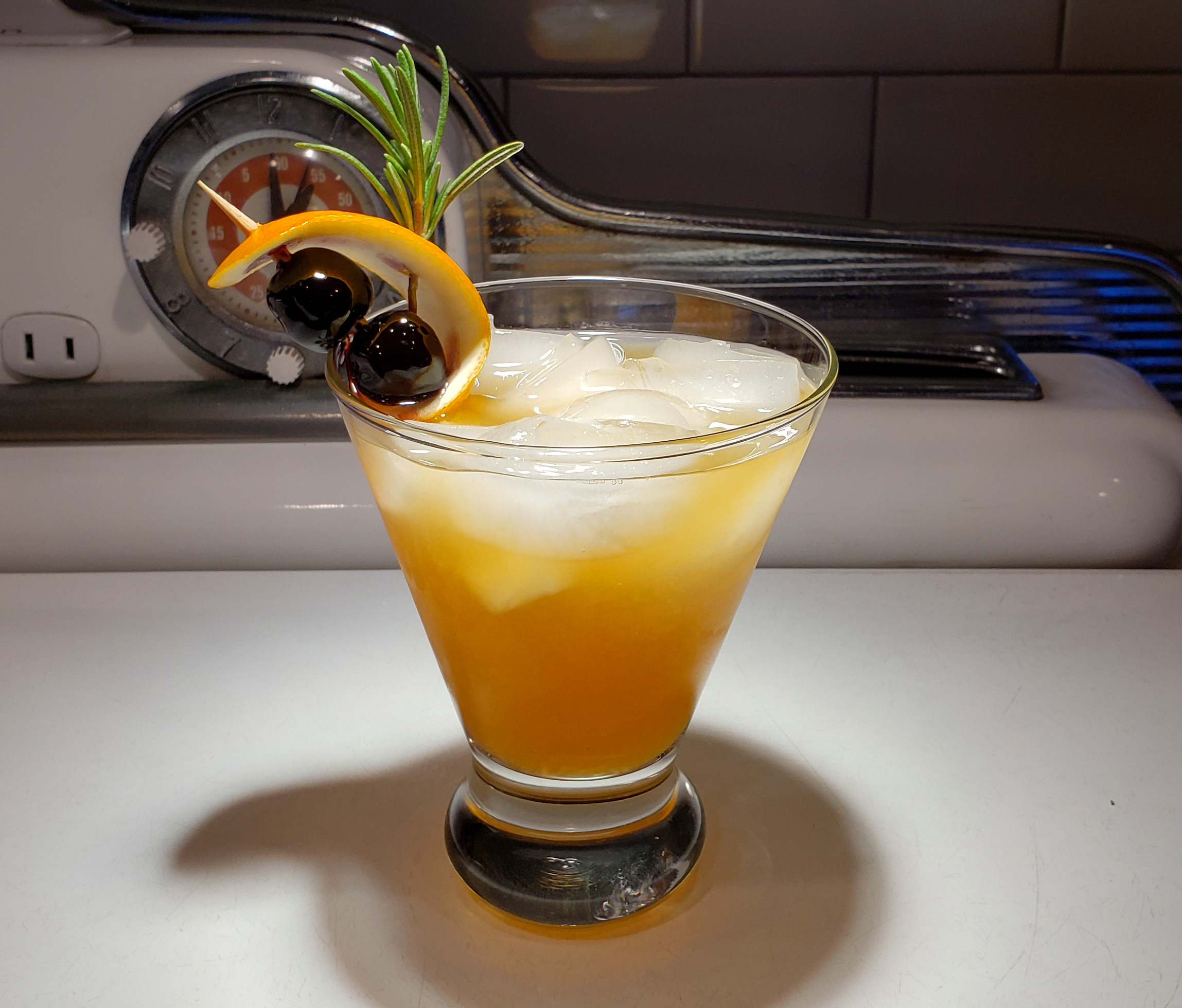 The Eagle's Rosemary Sour, photo by Michael Bonin