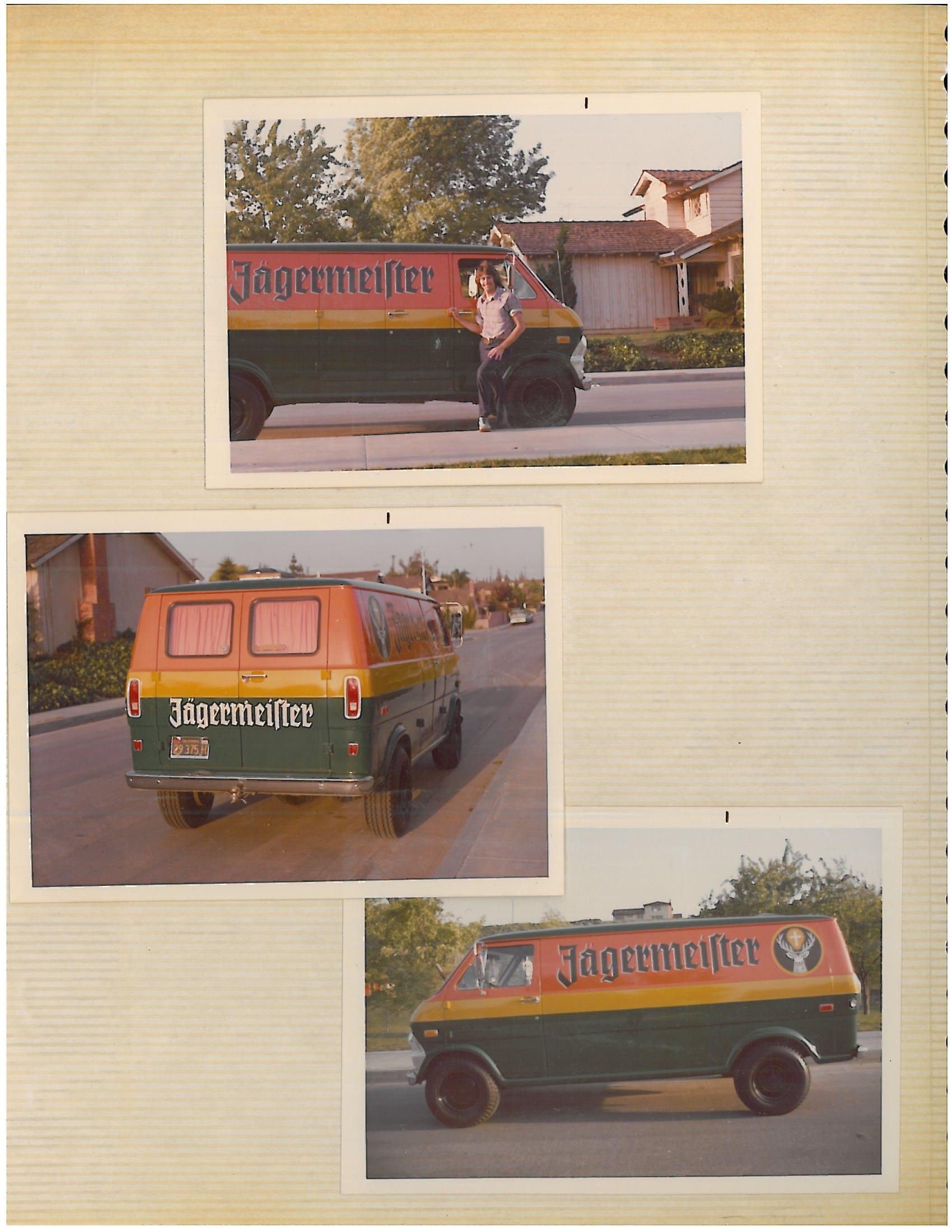 the original Jäger van! Photo courtesy Henry Preiss