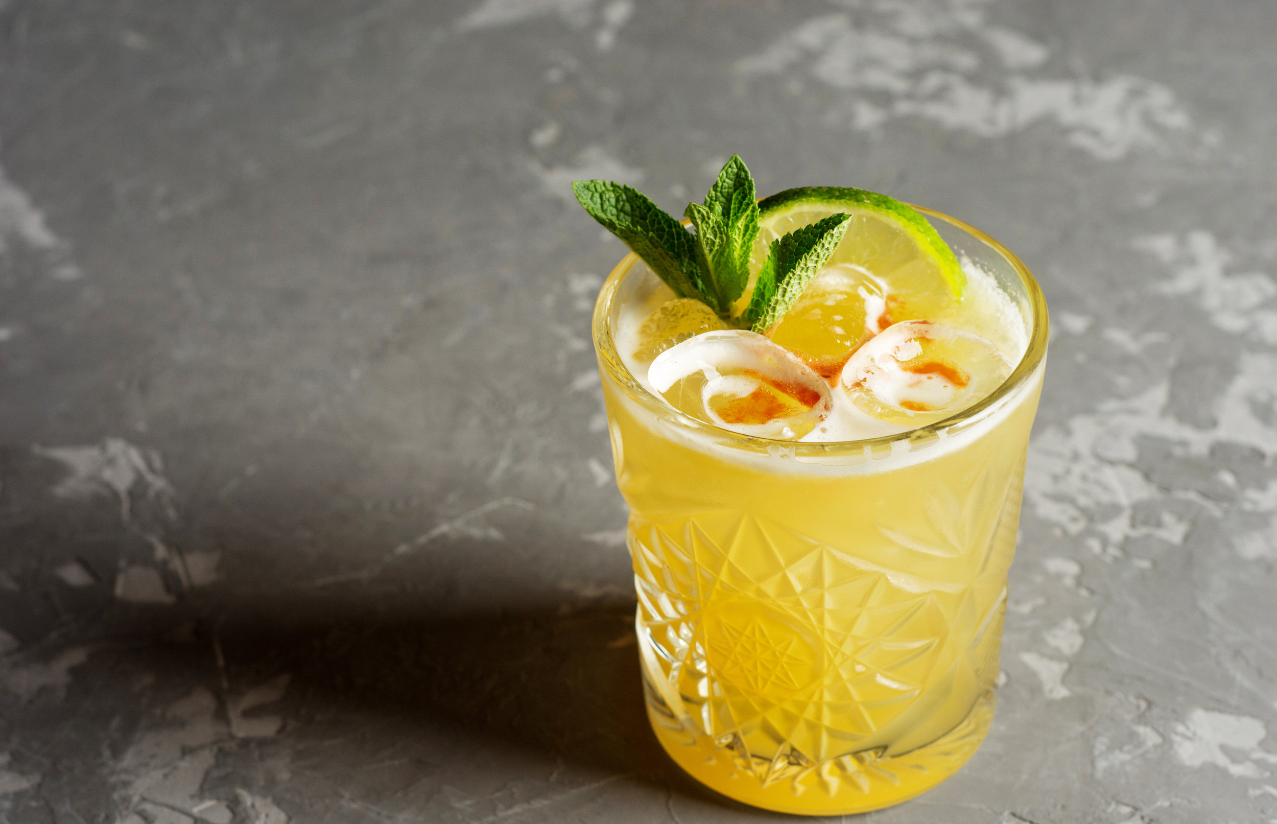 Lemon Basil Margarita, courtesy Elegant Affairs