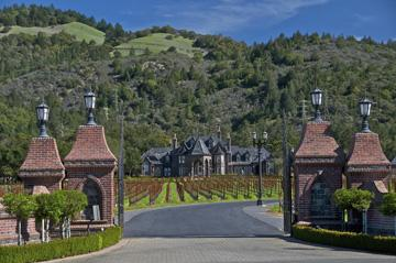The Benziger winery is also committed to biodynamic farming, photo courtesy sonomacounty.com