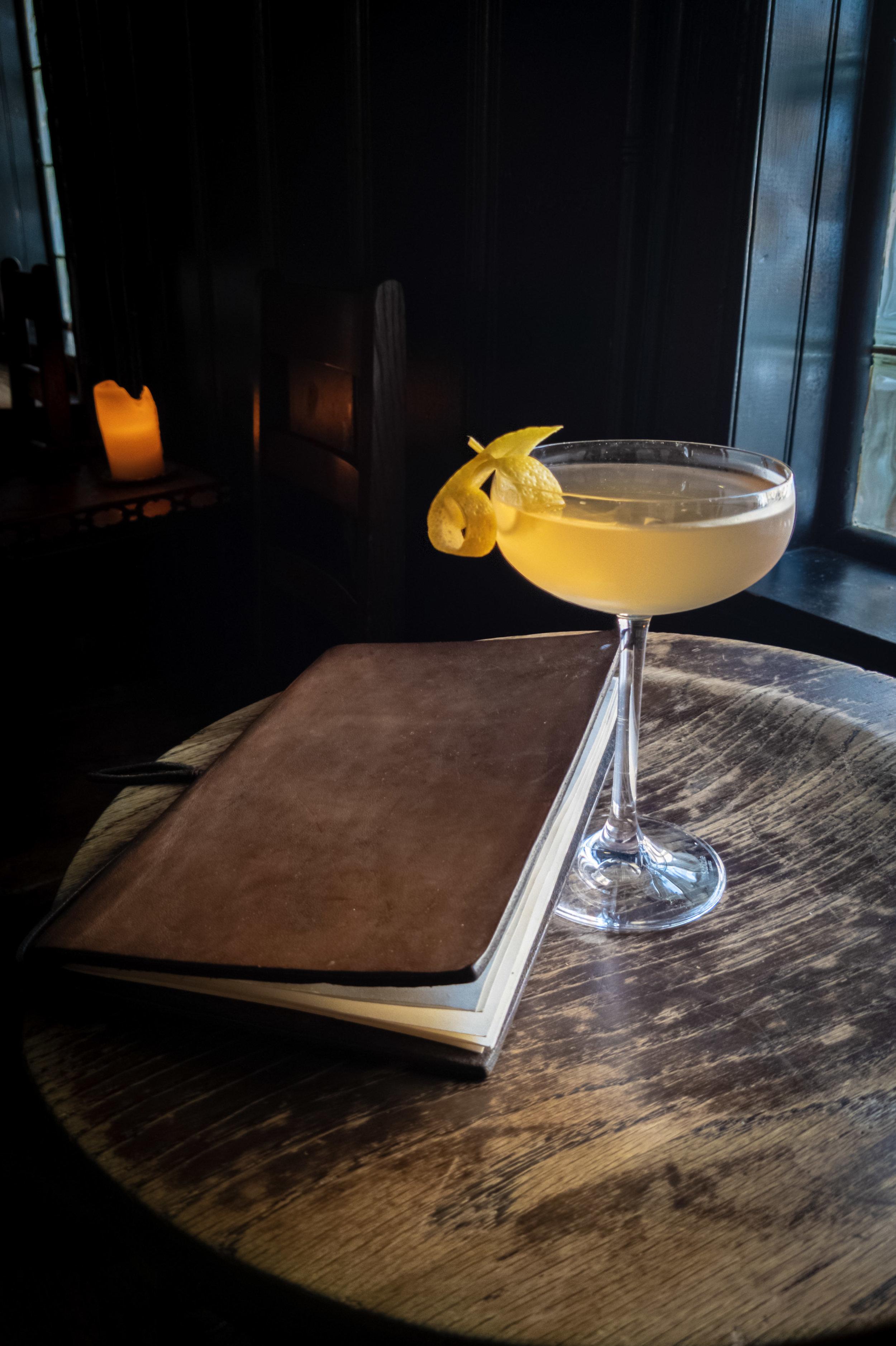 Bond Girl cocktail, courtesy Baltimore Spirits Co.