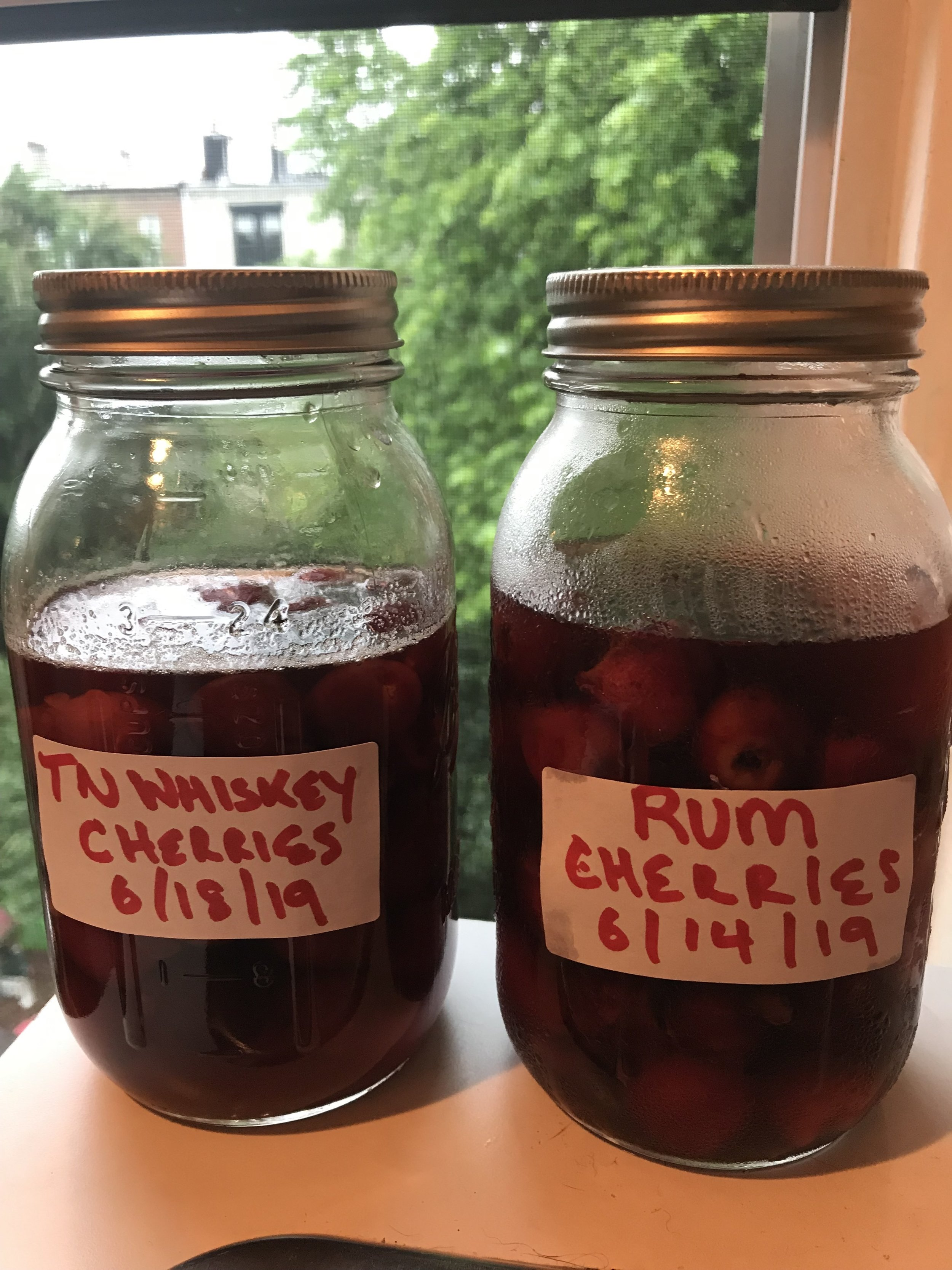 Rainy summer days are the perfect excuse to jar those cherries! Photo by Amanda Schuster
