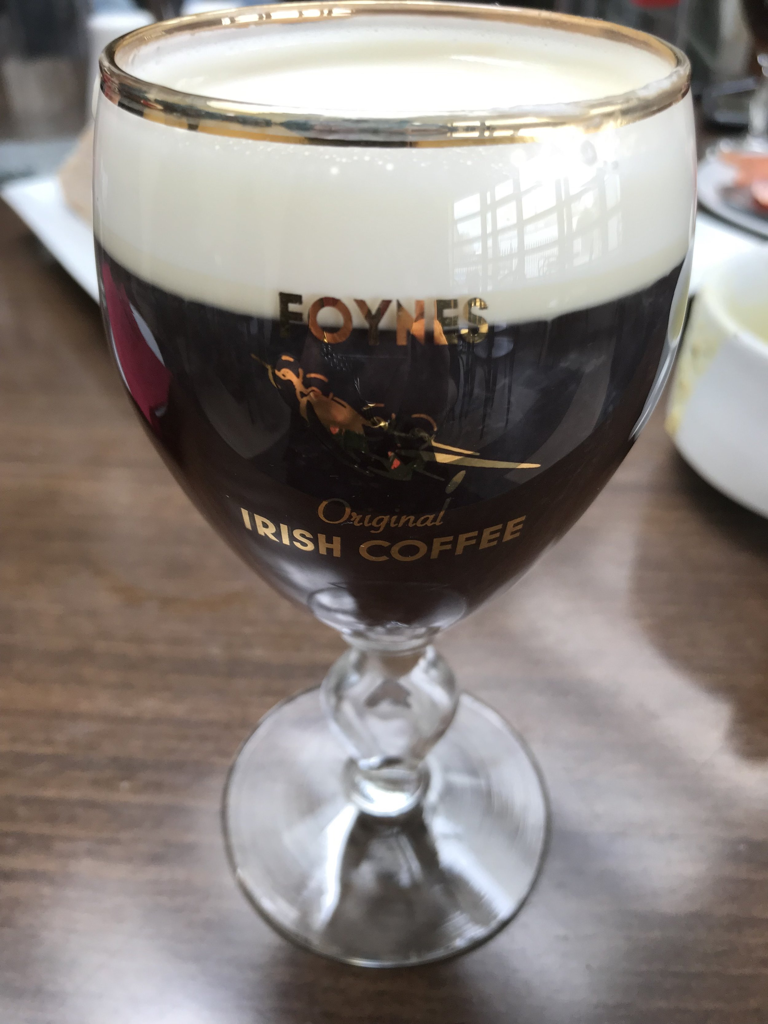 An Irish Coffee at the source