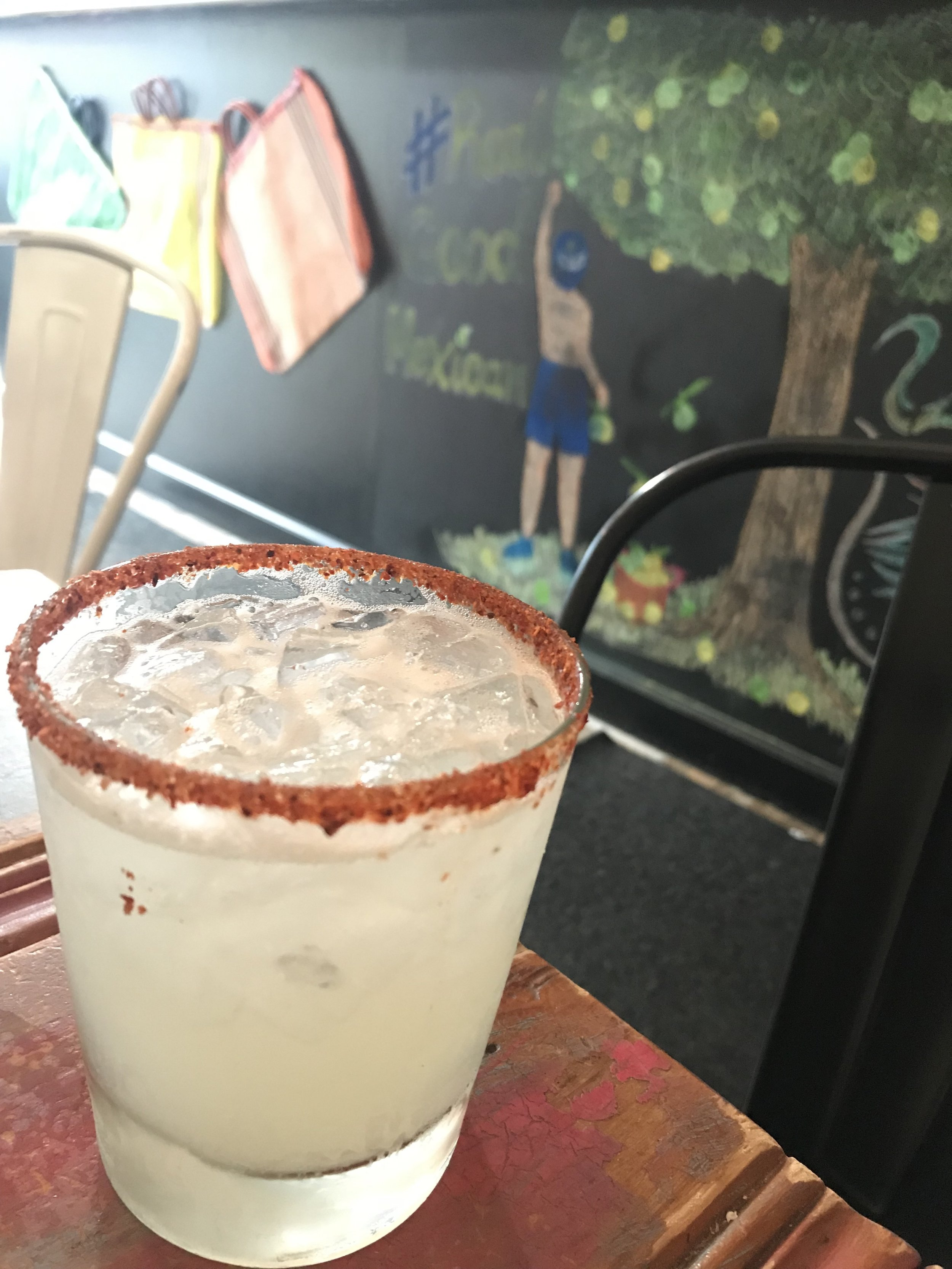 mezcal Margarita at Citrico, photo by Amanda Schuster